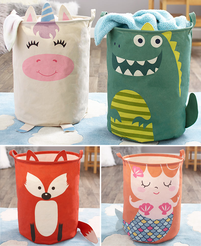 Character Themed Laundry Hampers