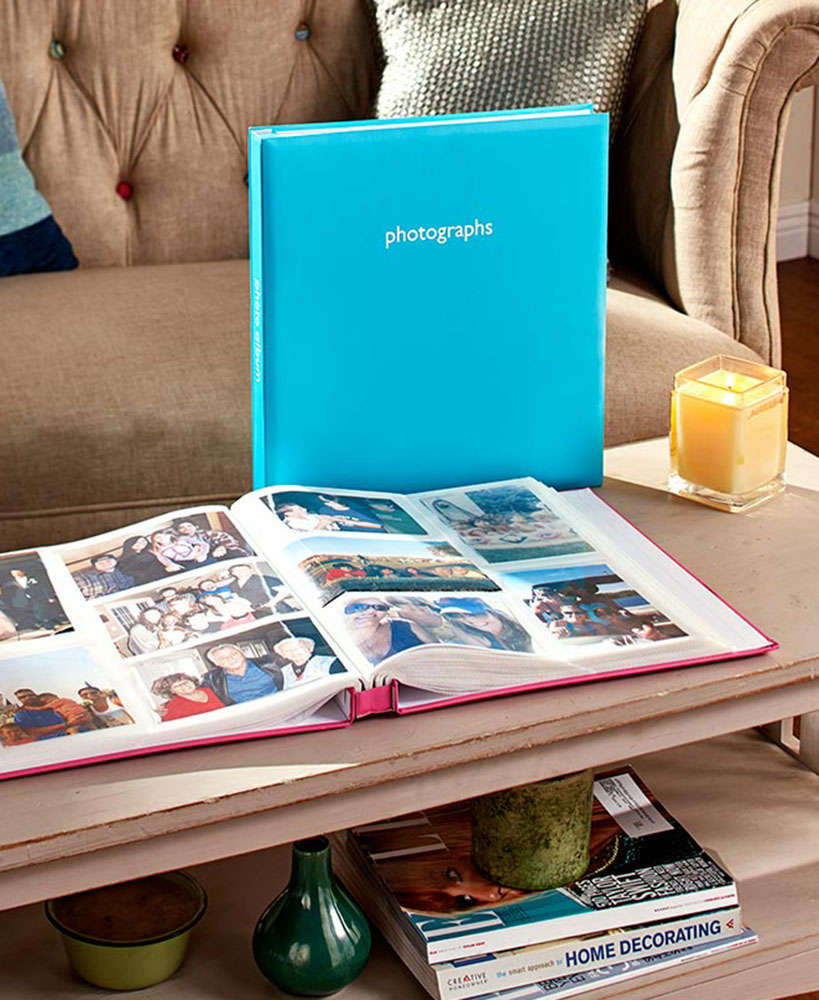 Teal Photo Book