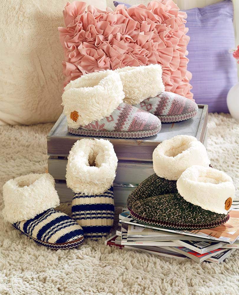 LUK-EES BY MUK-LUKS Boot Slippers