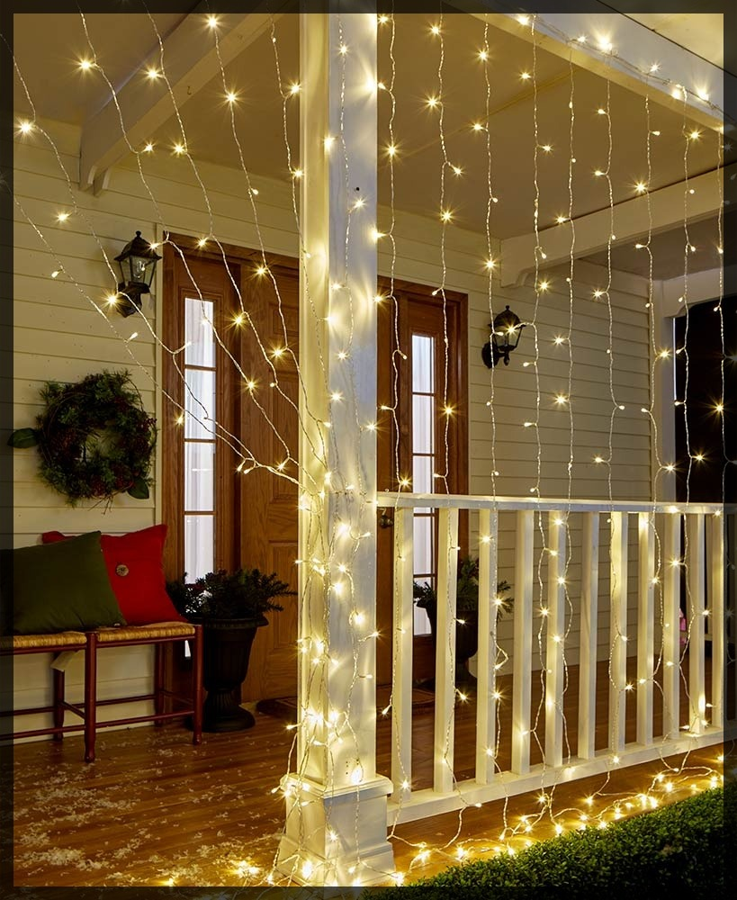 Icicle Curtain Lights