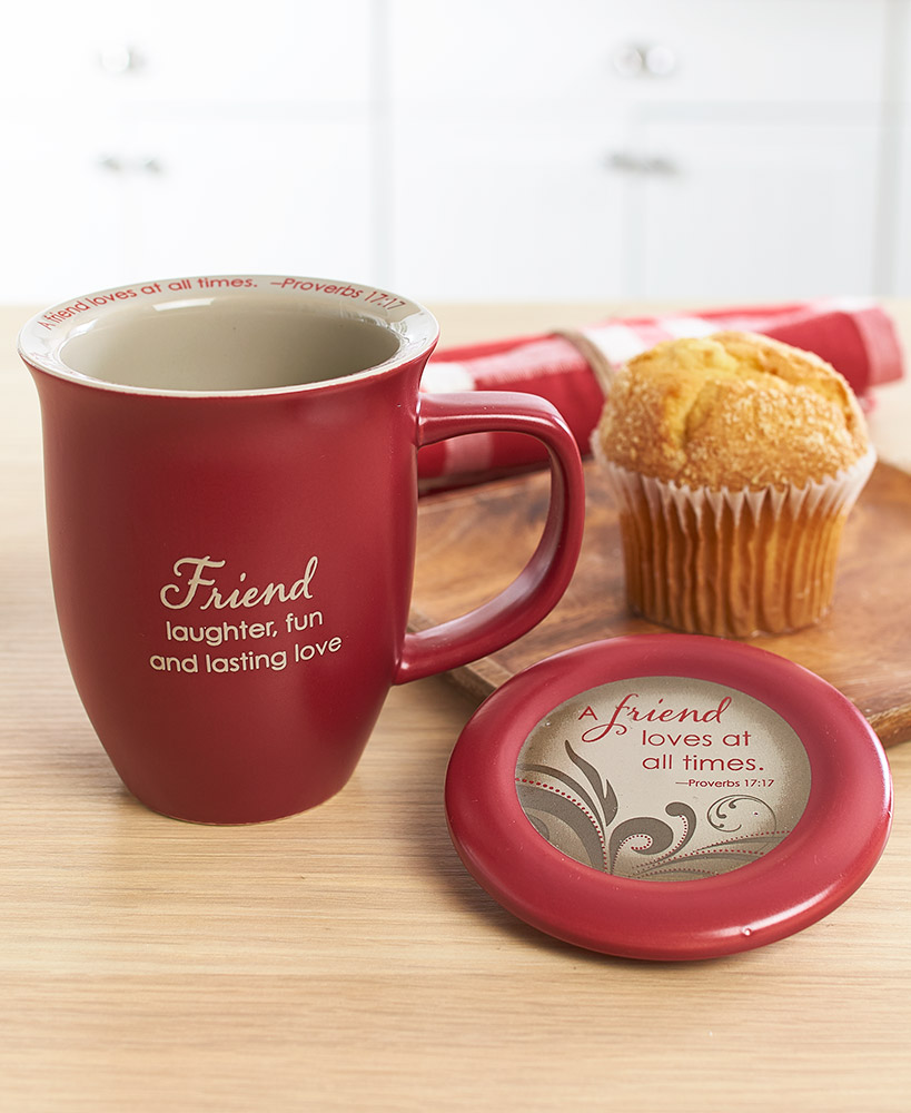 Special Friend Mug And Coaster