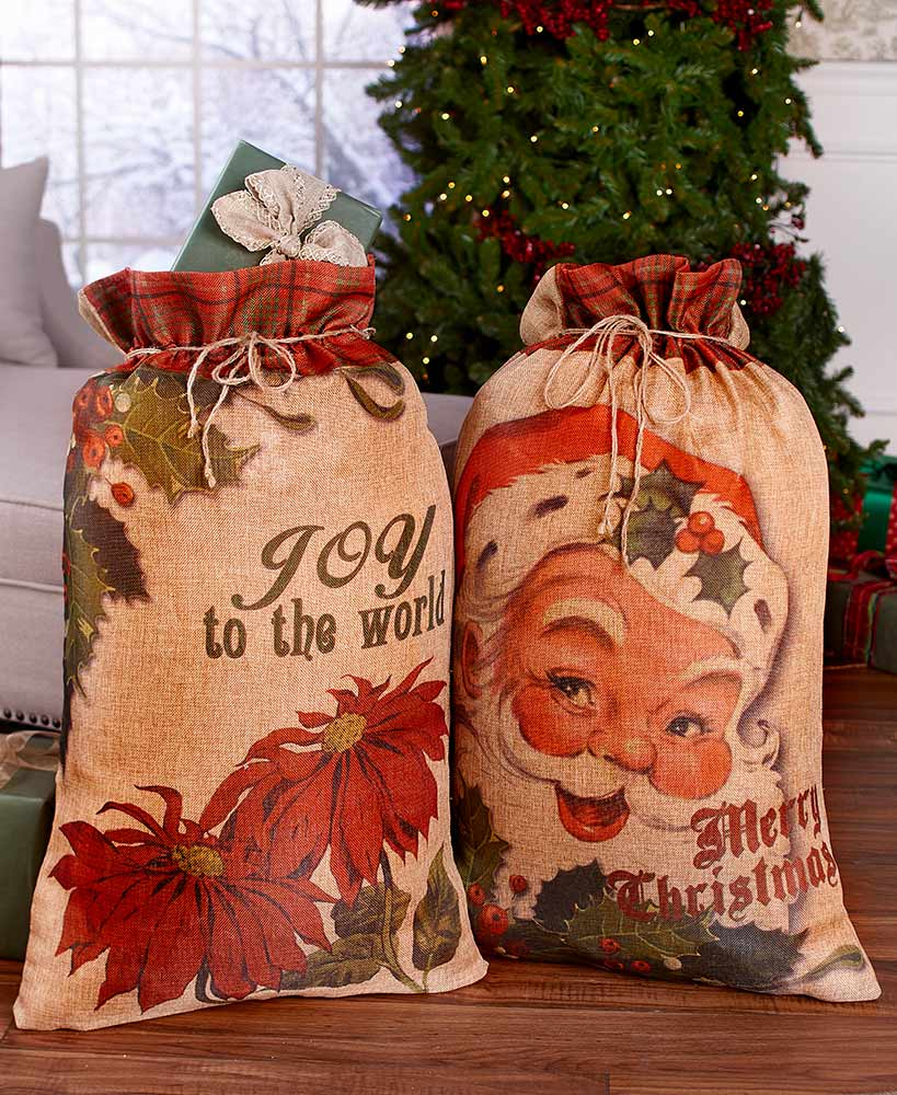 Oversized Santa Gift Sacks