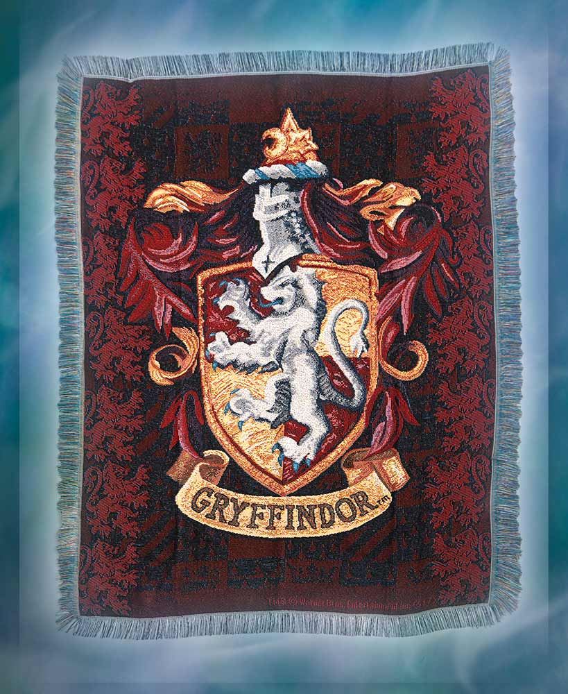 Harry Potter Gryffindor Tapestry Throw