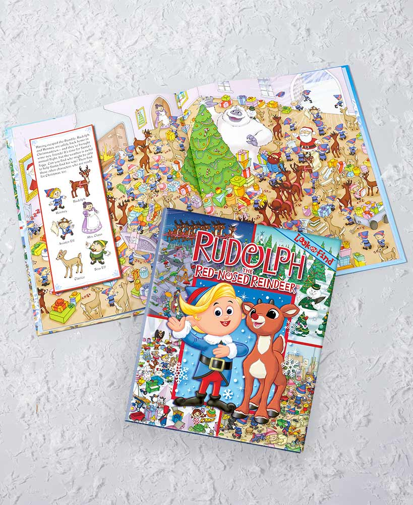 Rudolph Picture Search Book