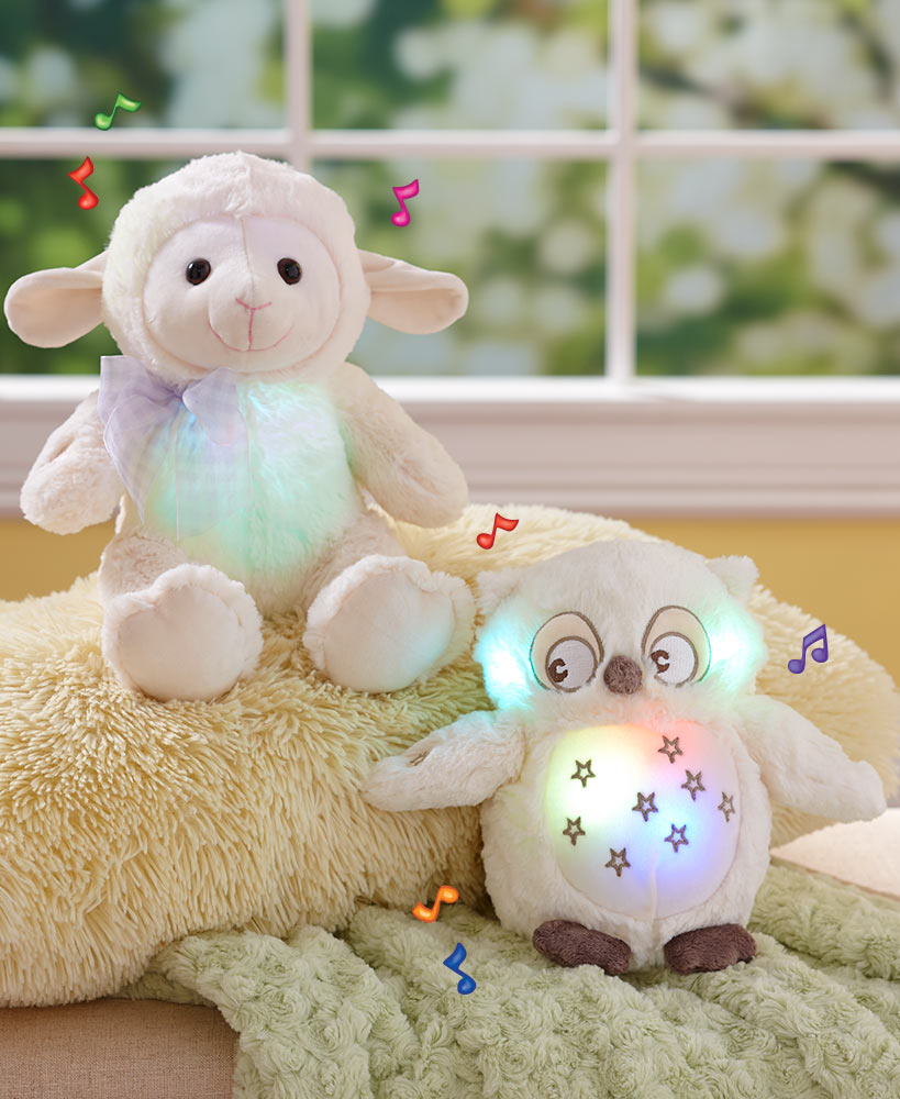Musical Lullaby Stuffed Animals