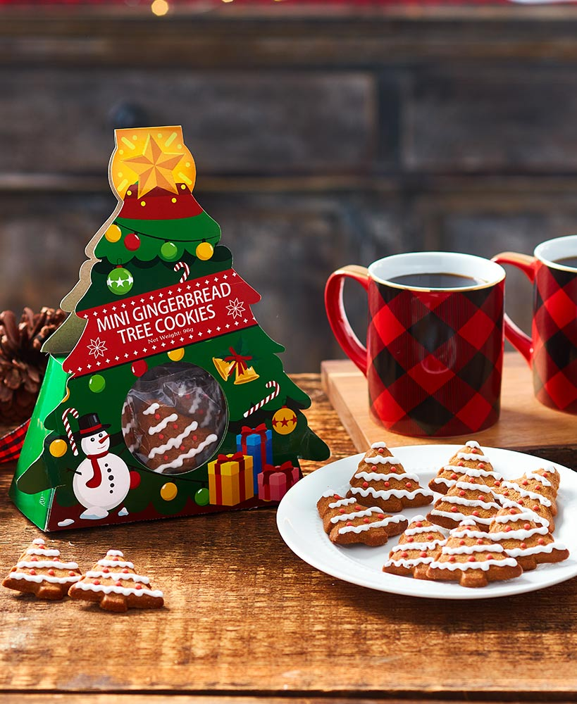 Christmas Tree Cookie Gift