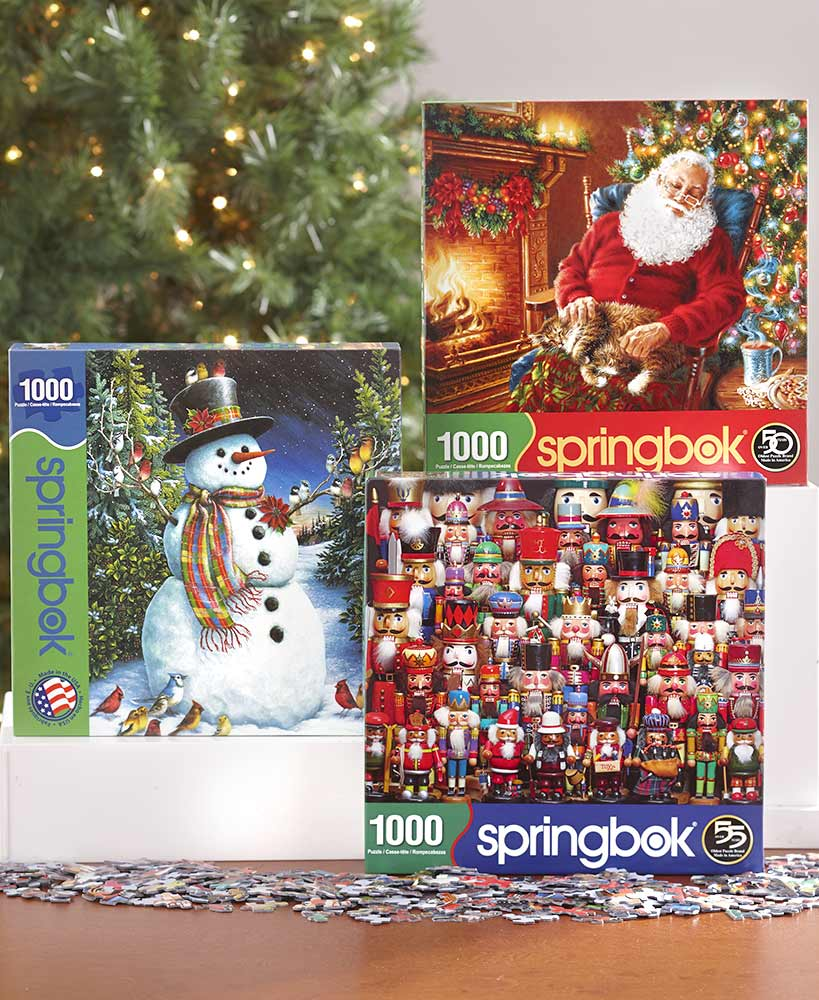 Winter Christmas Puzzles