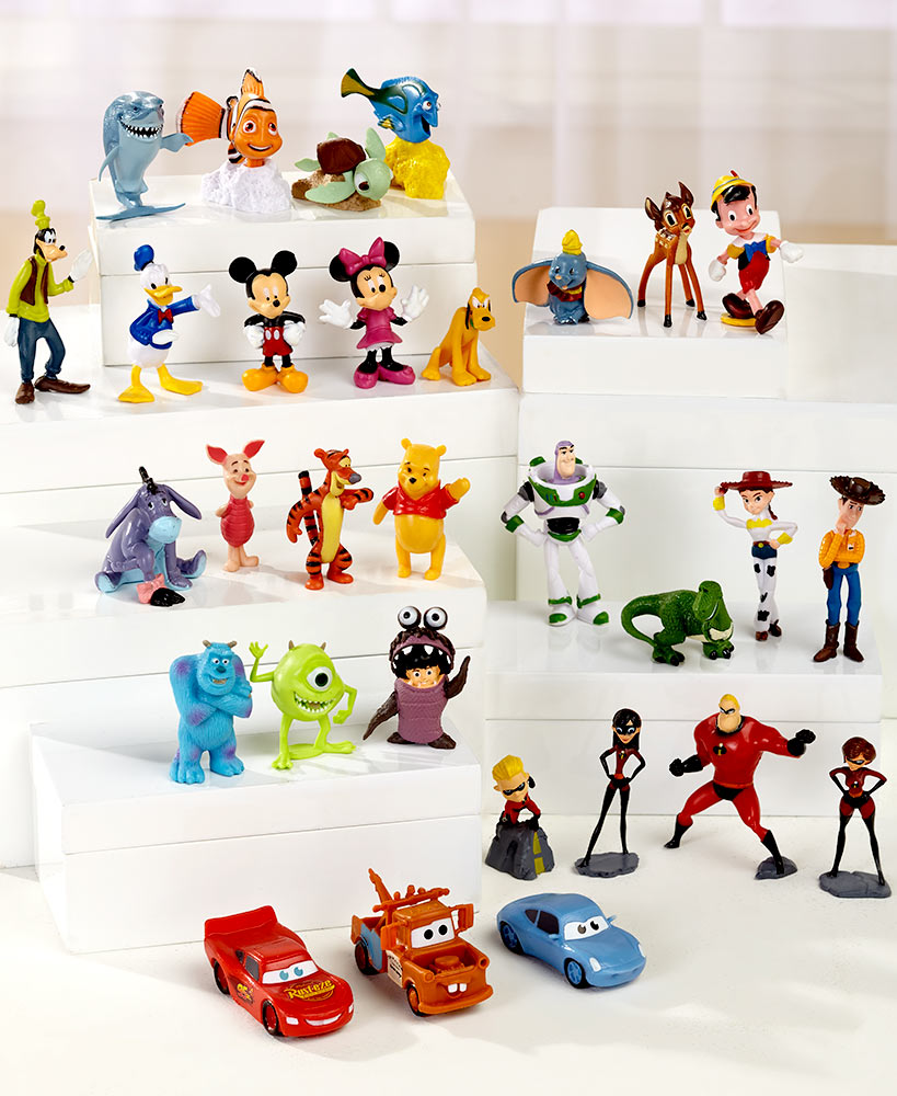 30 Piece Disney Figurine Set