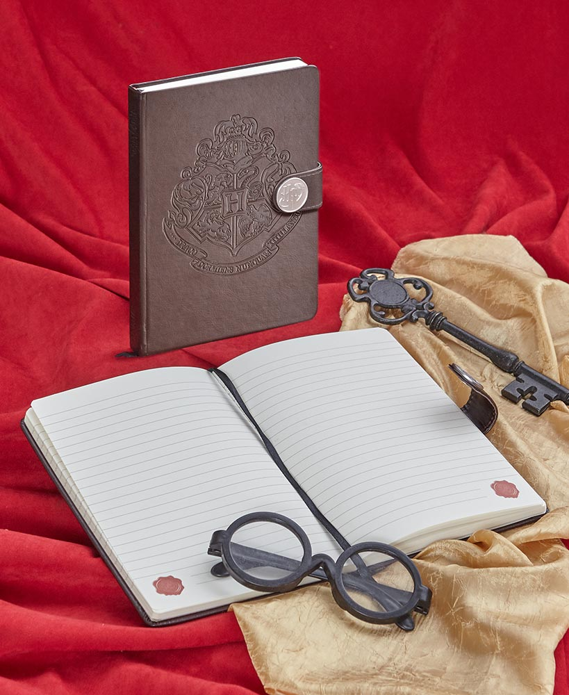 Harry Potter Embossed Metal Clasp Journal
