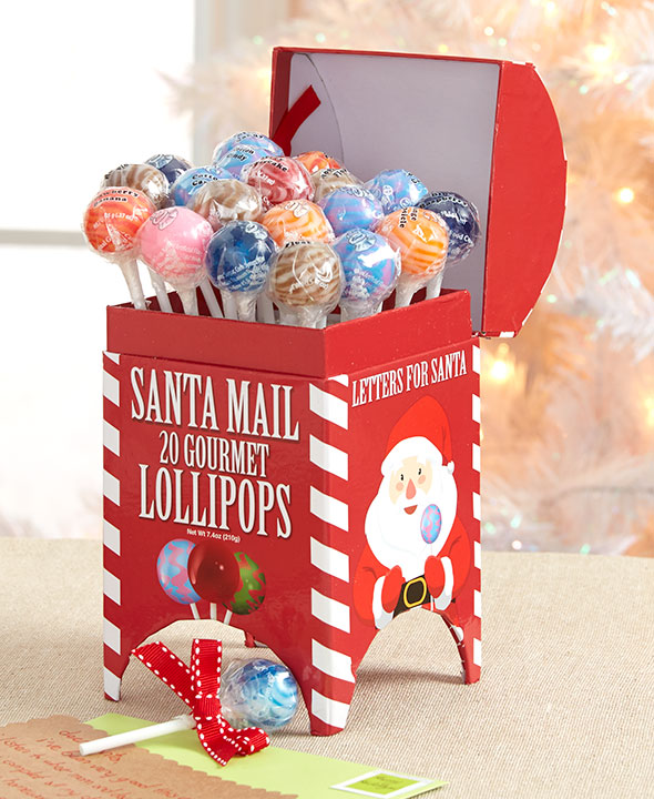 Gourmet Lollipops In Holiday Box