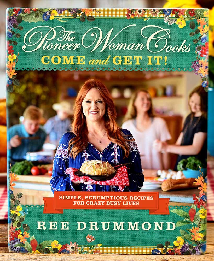 Pioneer Woman Cookbooks