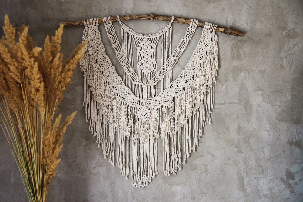 Wall Decoration Ideas For Living Room - Macrame Wall Hanging