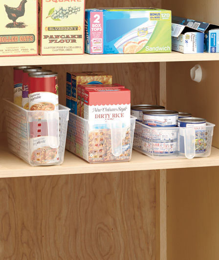 Kitchen Storage Ideas - Kitchen Pantry Baskets