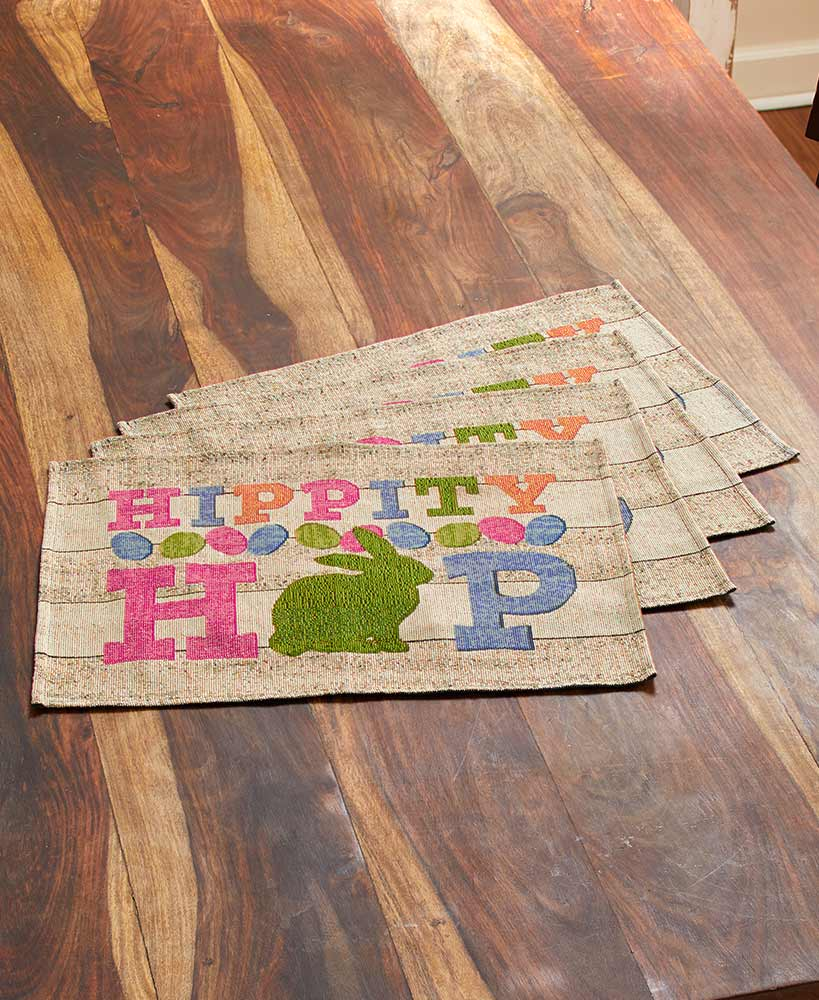Hippity Hop Easter Placemats