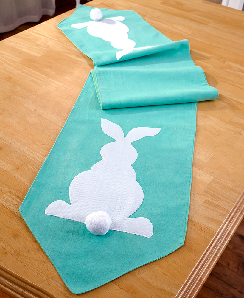 Cottontail Bunny Table Runner