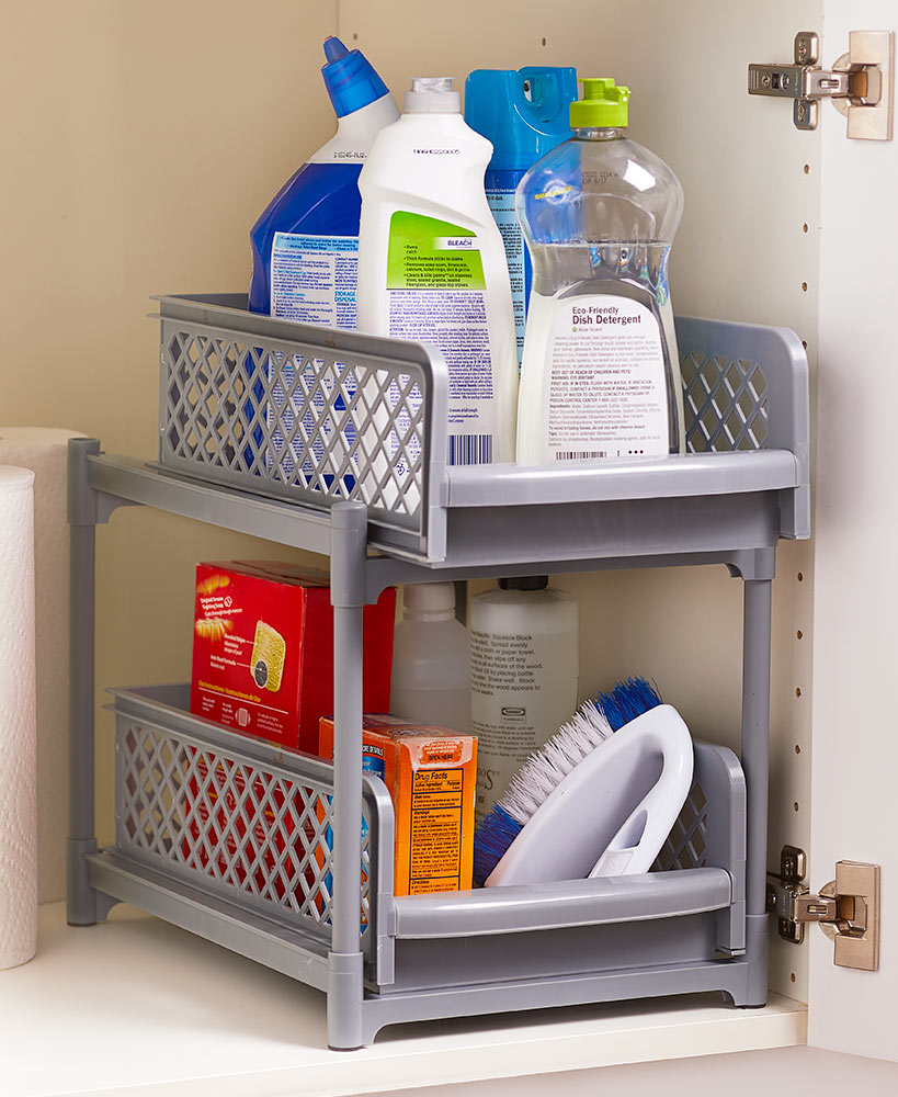 Kitchen Storage Ideas - Sliding Basket Drawers
