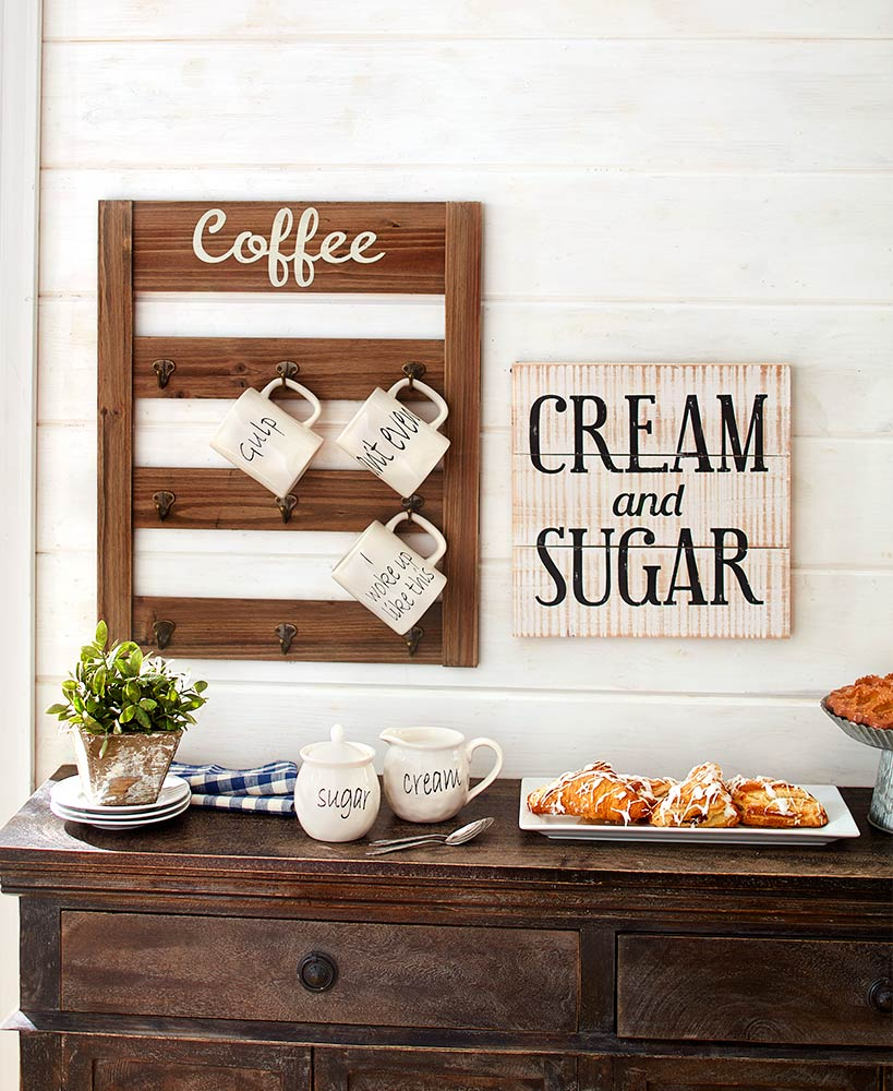 Kitchen Storage Ideas - Complete Coffee Collection