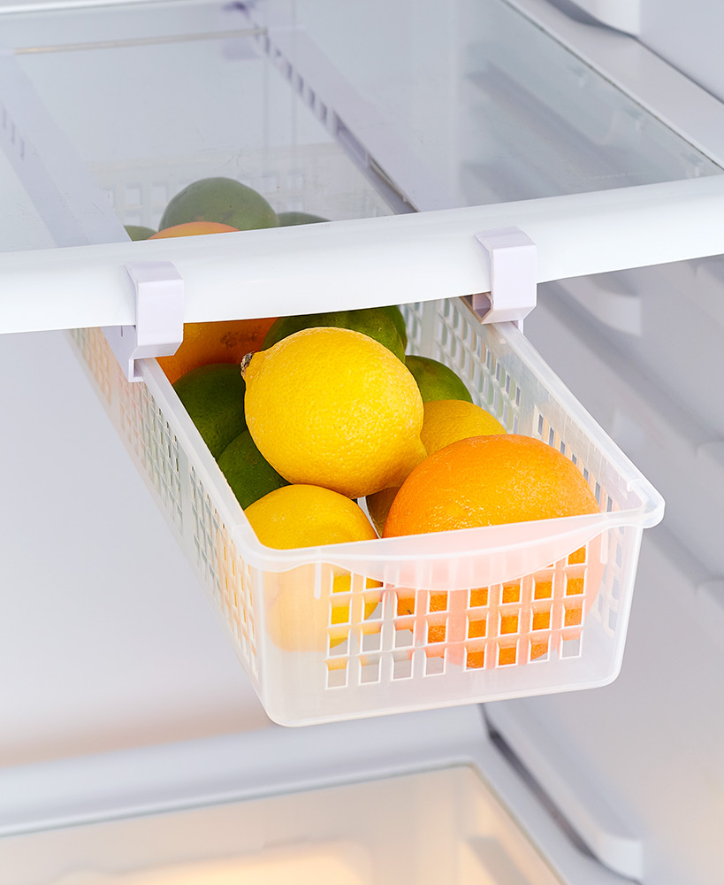 Kitchen Storage Ideas - Refrigerator Drawer