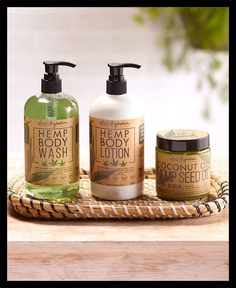 Coconut Hemp Oil Skin Care Collection