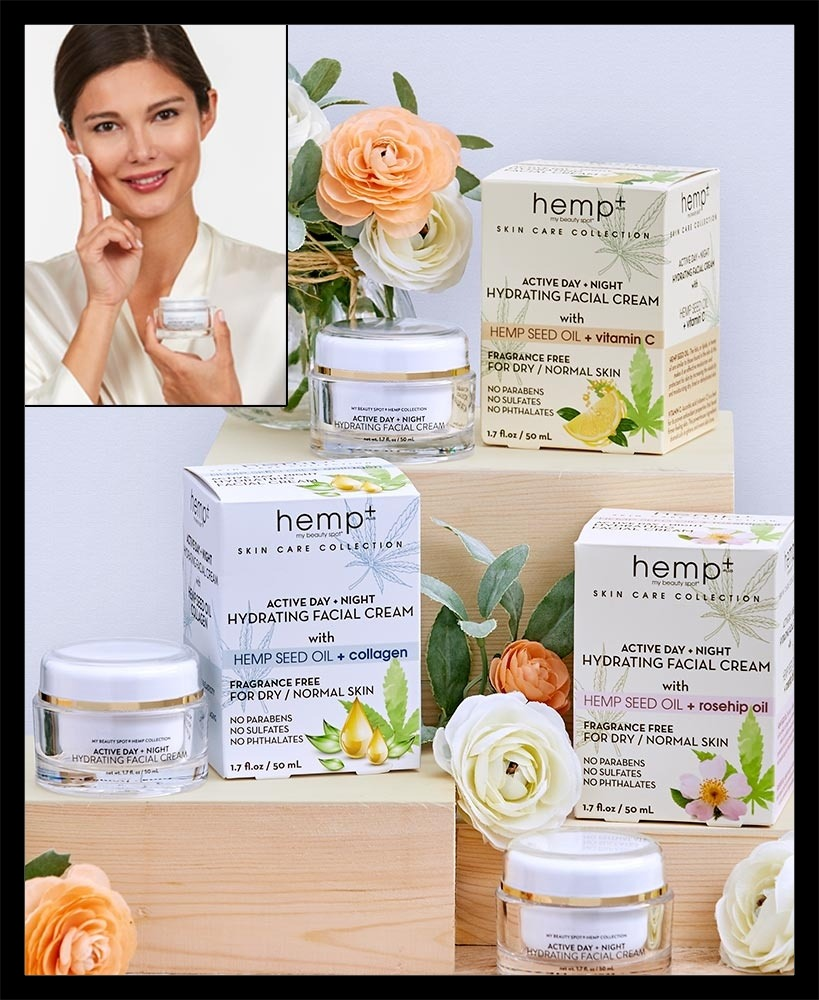Day/Night Hemp Oil Hydrating Face Creams