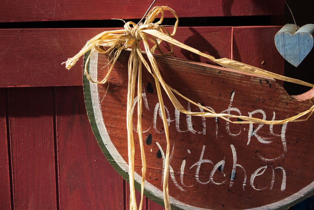 Decorating Ideas For Country Kitchen - Country Sentiments