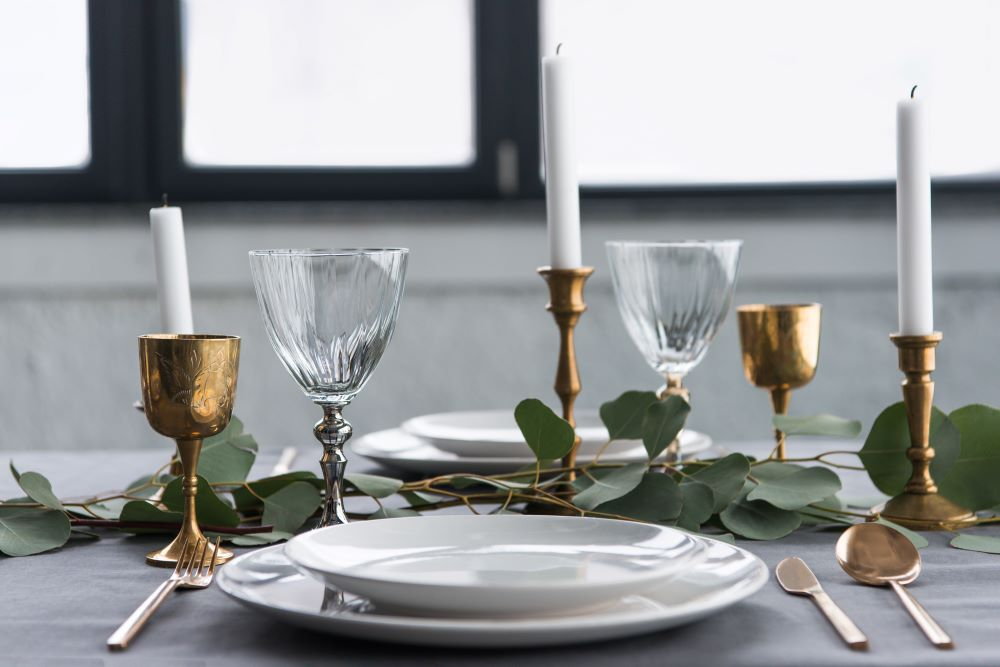 How To Decorate With Candles - Dining Room Candle Sticks