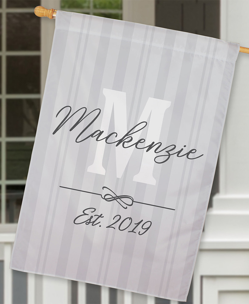 Personalized Double-Sided House Flags