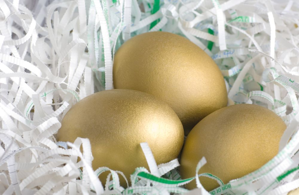 Easter Egg Hunt Ideas - Golden Eggs