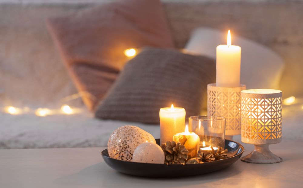 How To Decorate With Candles - Candles On Coffee Table