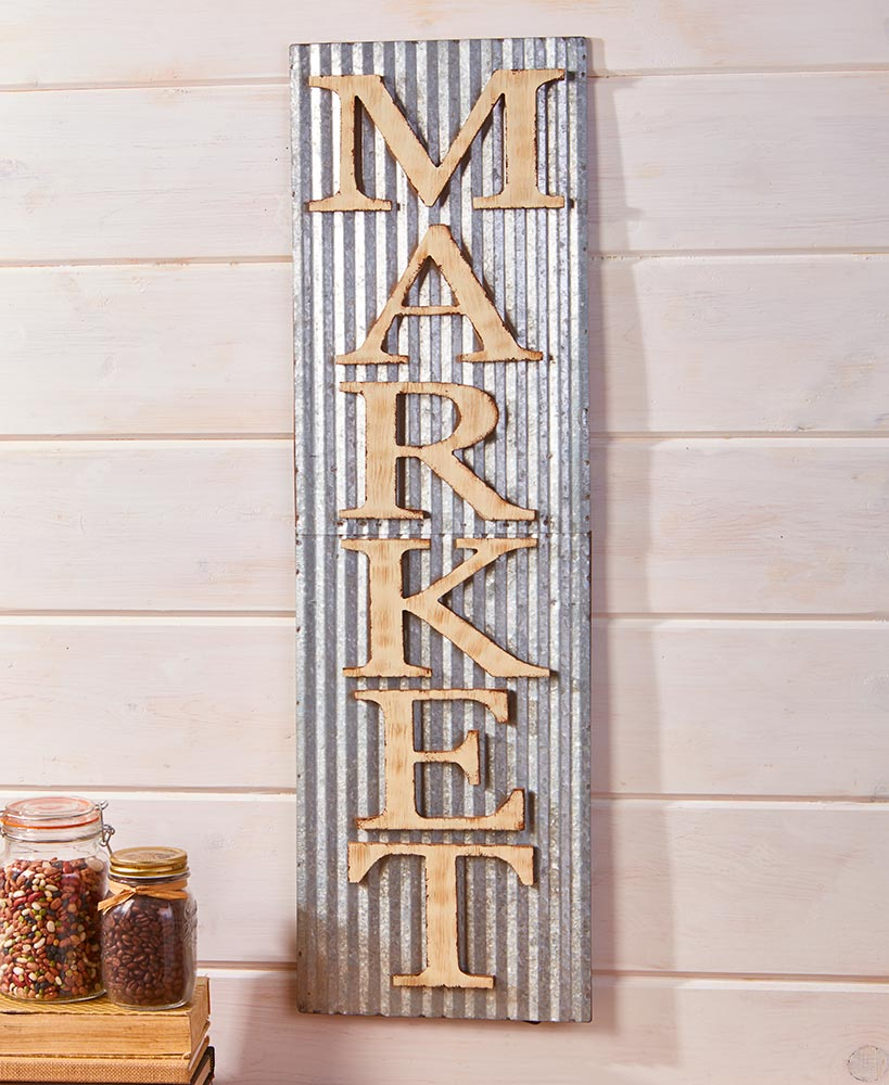 Country Market Kitchen Sign