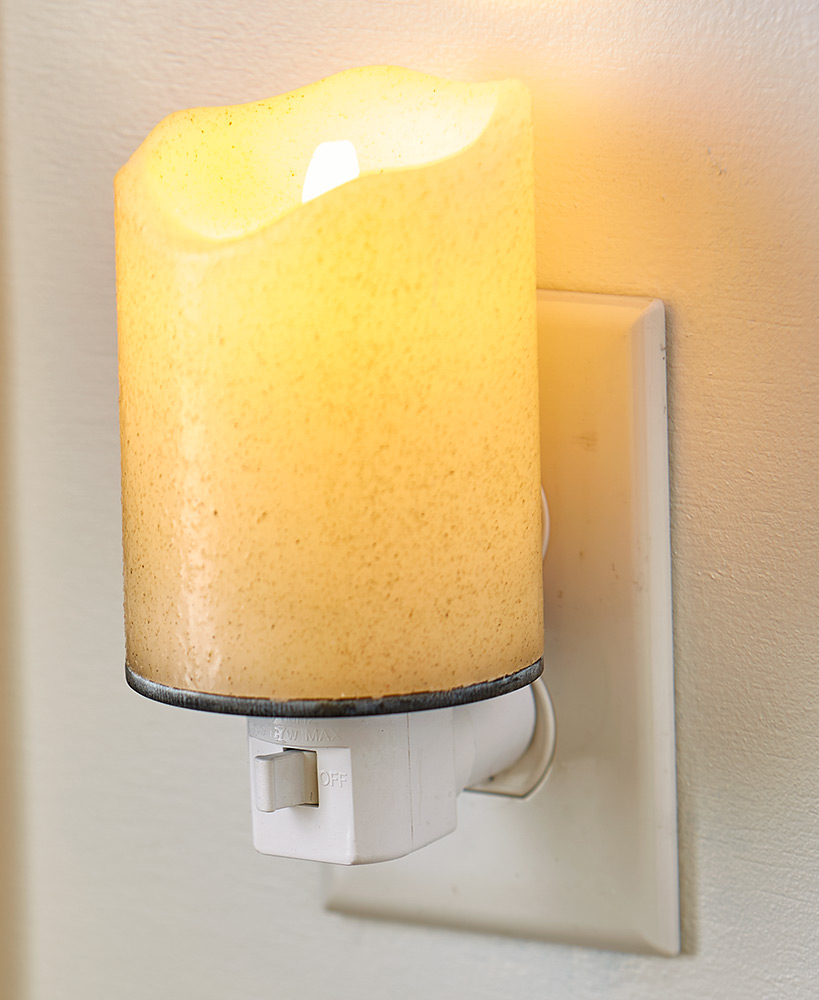 Realistic Flame Candle Night Lights