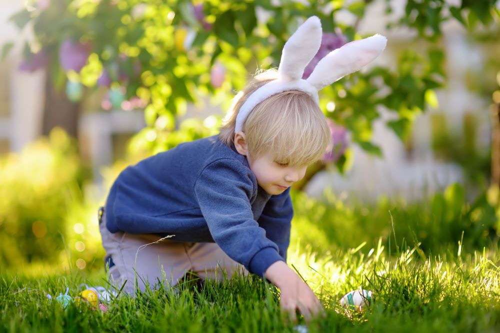 Easter Egg Hunt Ideas - Easter Egg Treasure Hunt
