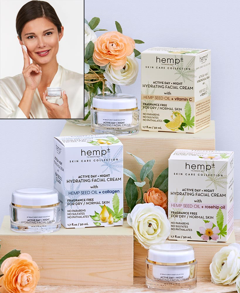 Relaxing Mother's Day Gifts - Hemp Oil Face Cream