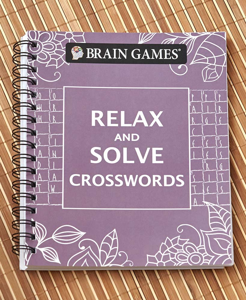 Relaxing Mother's Day Gifts - Brain Games™ Relax & Solve Puzzle Books