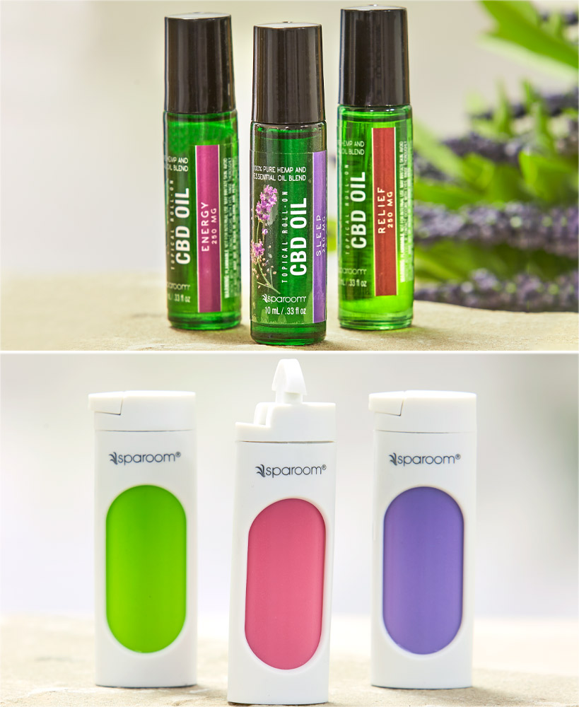 CBD Essential Oil Inhalers Or Roll-Ons