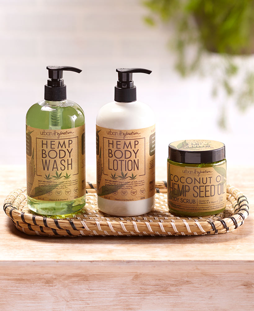 Relaxing Mother's Day Gifts - Coconut Hemp Oil Skin Care Collection