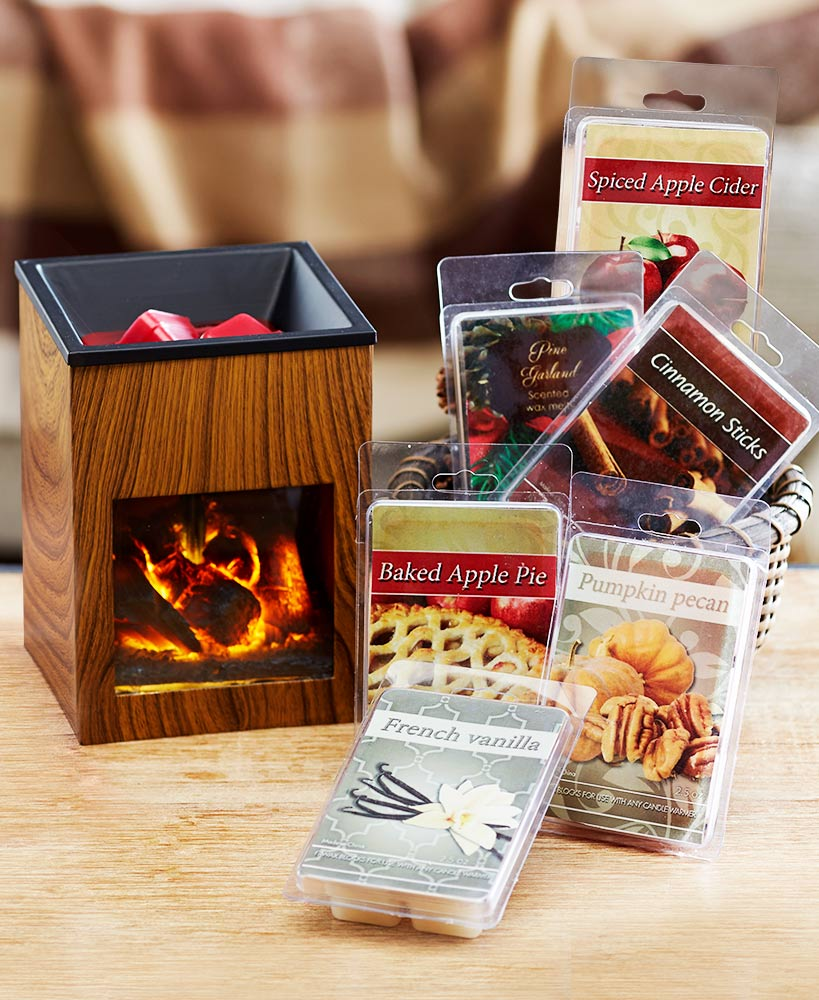 Relaxing Mother's Day Gifts - Fireplace Tart Warmer