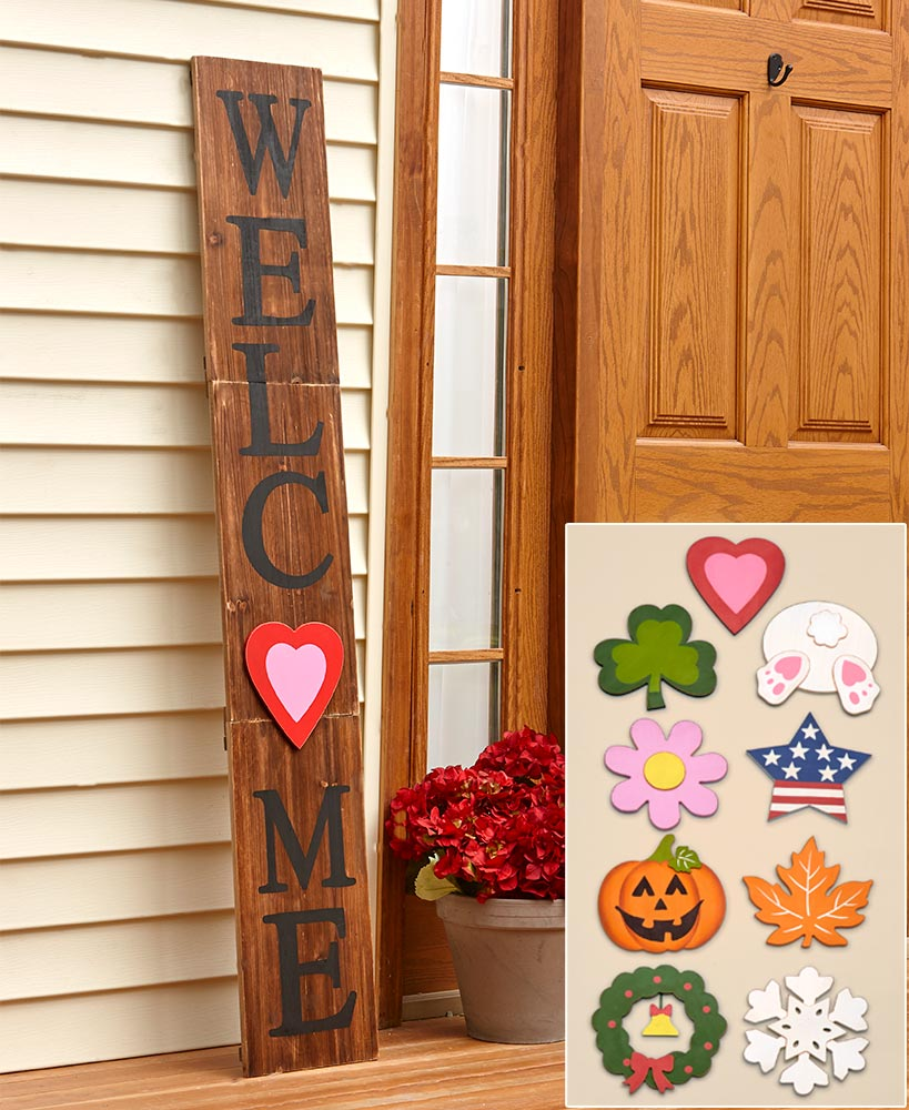 Housewarming Gift Ideas - Interchangeable Welcome Sign