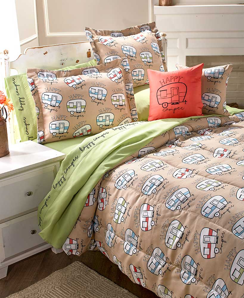 Happy Camper Bedding Collection