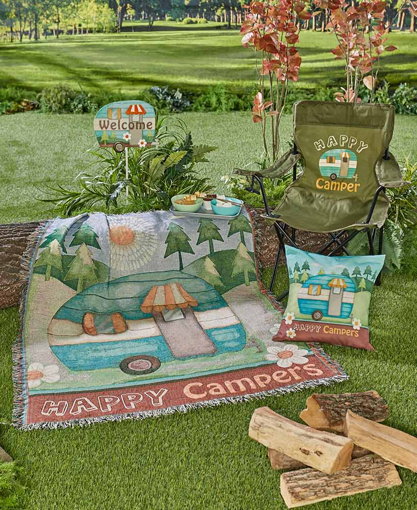 Happy Camper Outdoor Collection
