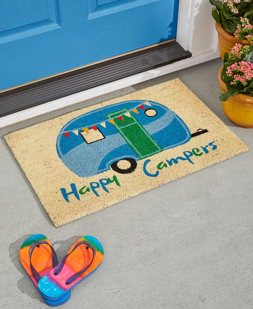 Indoor/Outdoor Novelty Coir Doormat