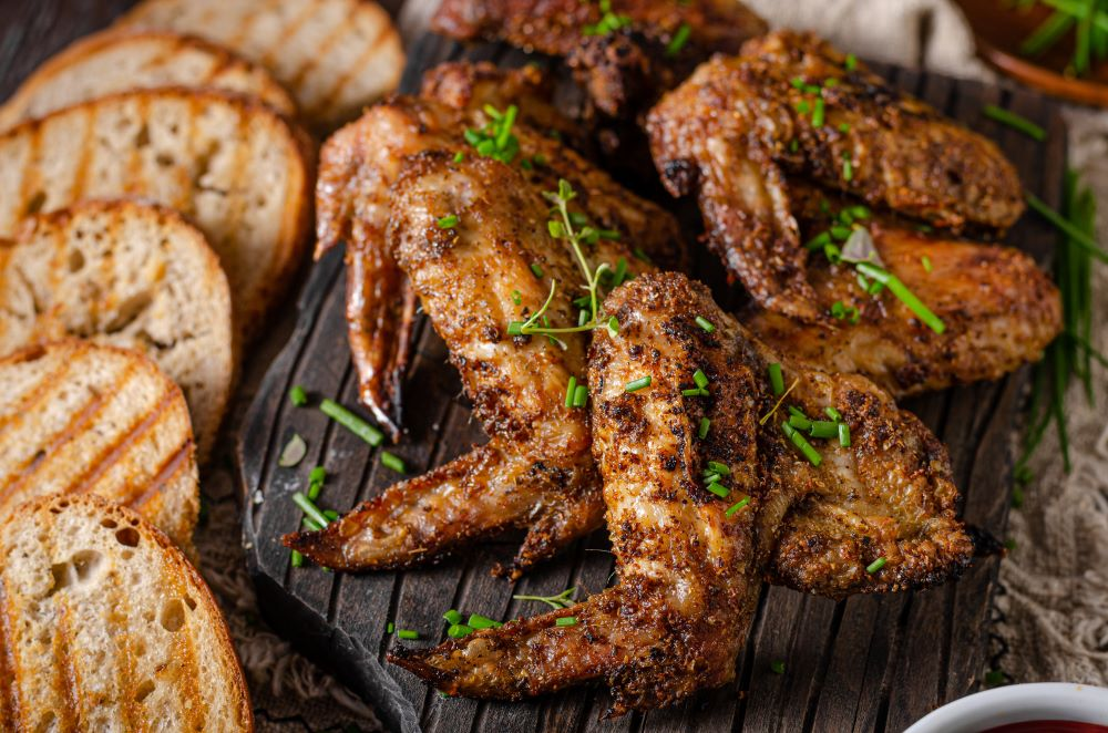 Herb Grilled Chicken Wings