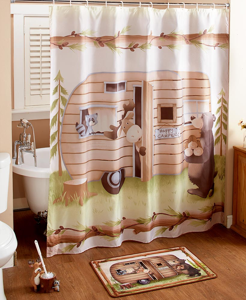 Woodsy Camper Bathroom Collection