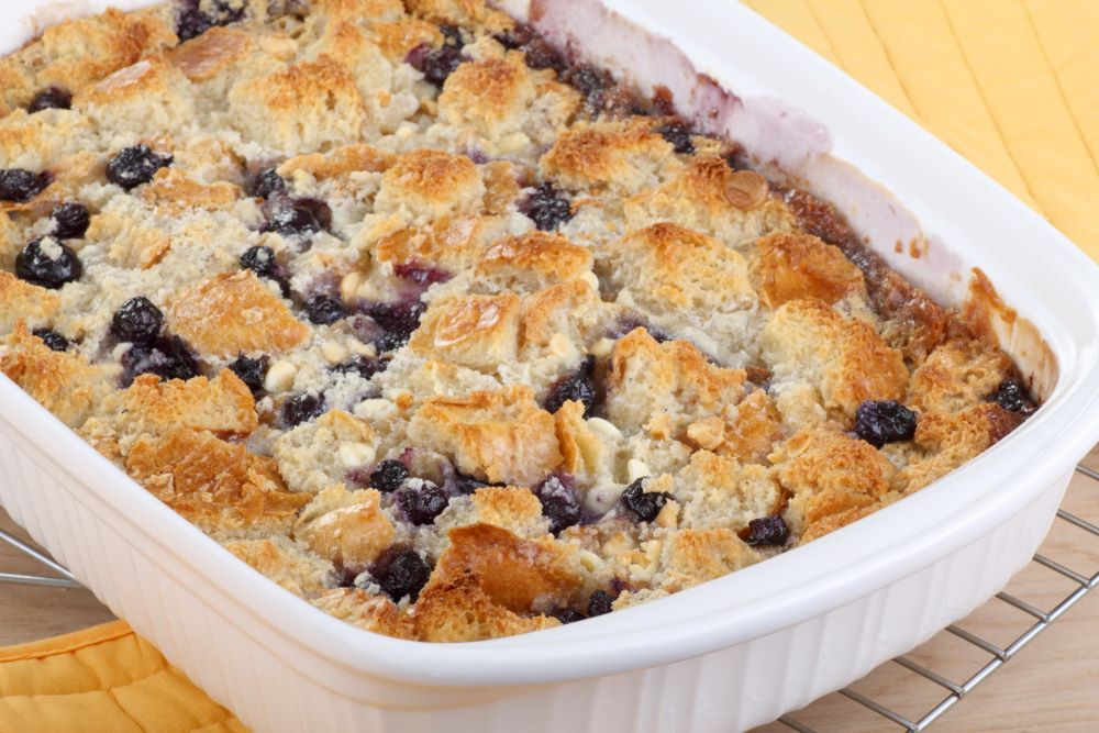 Desserts for the 4th of July - Blueberry Cobbler