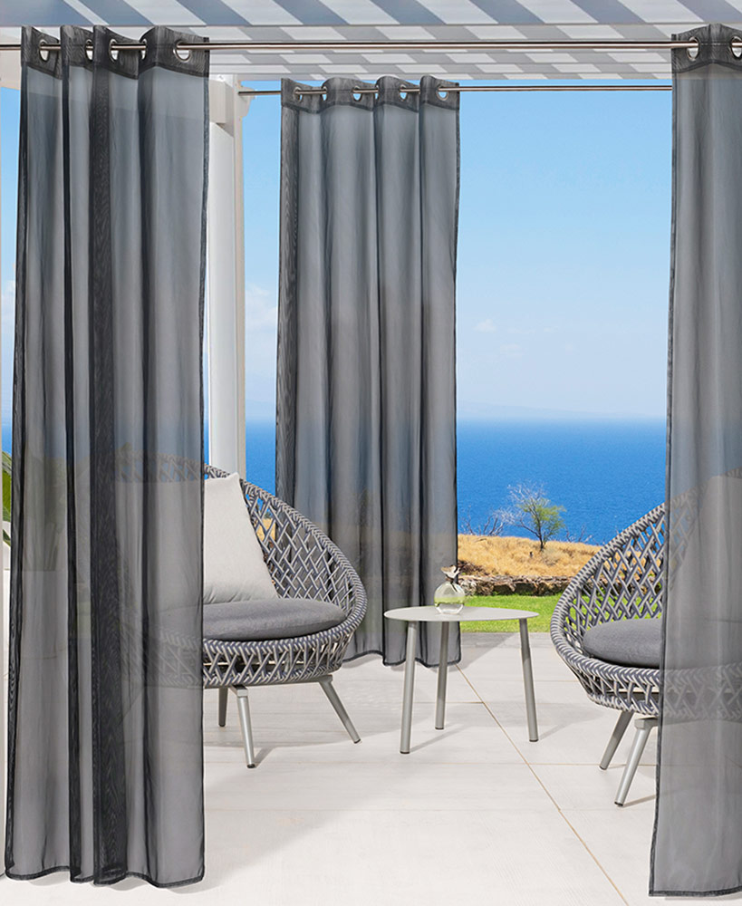 Outdoor Products - No-See-Um Insect Repellent Outdoor Curtain