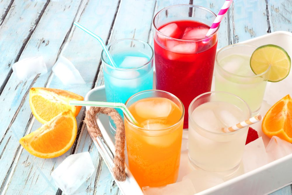 Tropical Summer Drinks