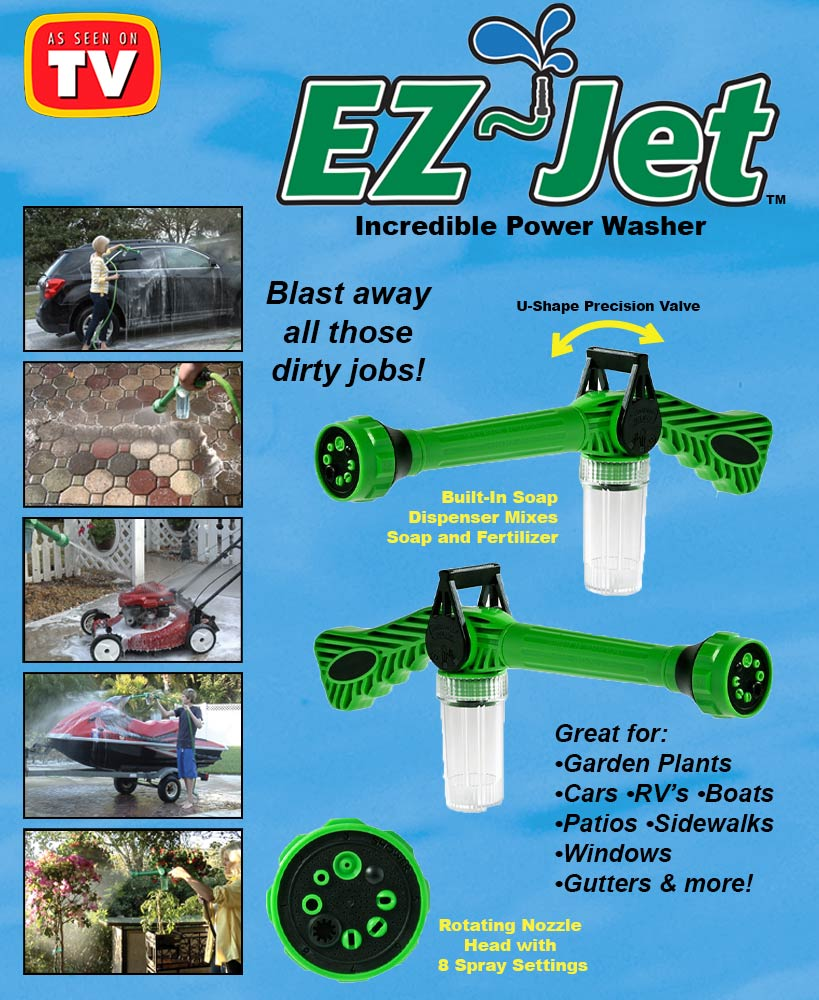 2-Pk. EZ Jet™ Water Cannons