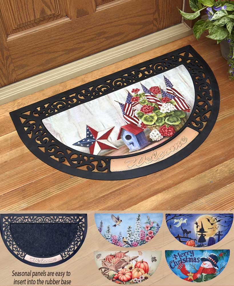 6-Pc. Interchangeable Seasonal Doormat