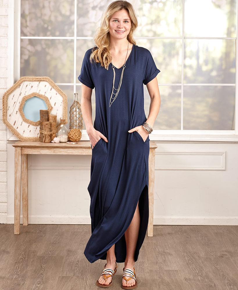 Everyday Maxi Dresses with Pockets