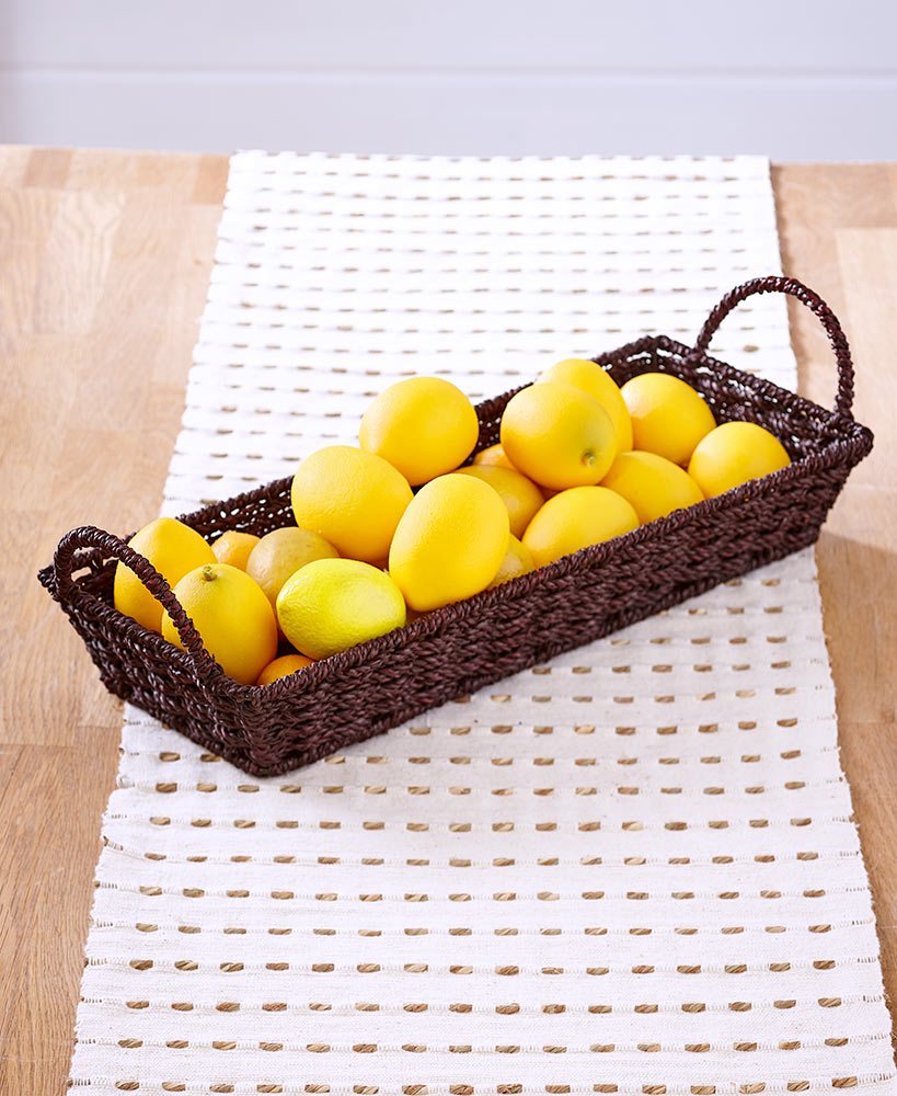Country Cottage Decor - Seagrass Basket